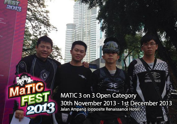 Open category for 3 on 3. This event held at MATIC, Jalan Ampang, Malaysia.